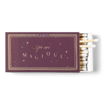 matches galaxy collection - burgendy stars